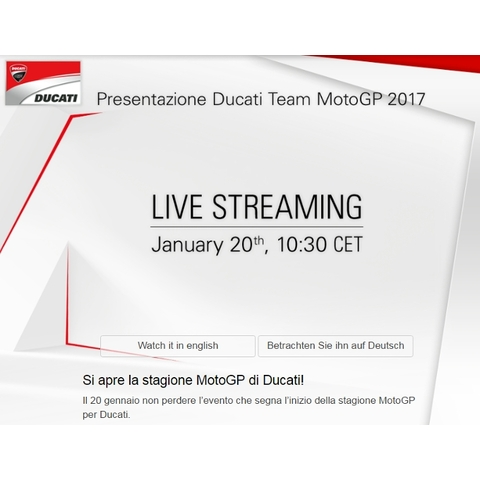Ducati GP 2017 Official Presentation